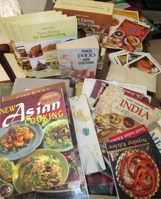 Recipe book collection