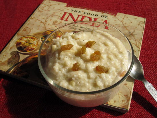 Kheer. Exotic rice pudding